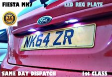 FORD FIESTA FOCUS LONG LIFE LED BULBS NUMBER LICENSE REG PLATE T10 W5W WARRANTY