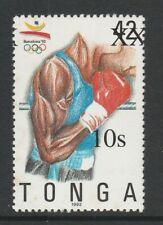Tonga 2002-04 10s on 42s Boxing SG 1559 Mnh.