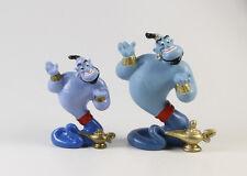 Aladdin & Jasmin === Walt Disney 2 x Dschinni Figuren gr + kl Bully / Bullyland