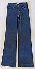 MINT J BRAND MONROE WOMENS 26, 27X35 DK WASH WIDE LEG STRETCH DENIM BLUE JEANS