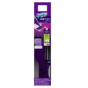 Swiffer WetJet Power Floor Spray Mop Starter Kit Hardwood Vinyl Floors Scrub