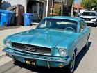 1966 Ford Mustang  1966 Mustang Hardtop