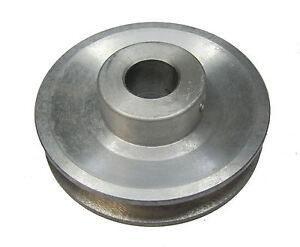 """RDGTOOLS 3-3/8"""" V PULLEY 19MM BORE / USED WITH V BELT / vee"""