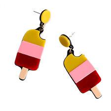 1pair ice pop earrings,ice lolly earring,icy pole earrings,summer feel ear rings