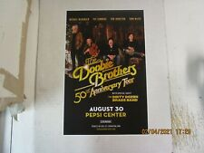 DOOBIE BROTHERS 50th Anniversary Tour Pepsi Center 2020 SHOW POSTER CANCELED