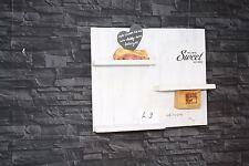 Vintage Wandregal Küchenregal Shabby Palette Nostalgie Board sweet home