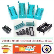 Zocalos Integrados ZIF DIP IC UNIVERSAL Integrated Sockets ZIF DIP IC UNIVERSAL