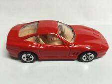 "2000 Hot Wheels 'Ferrari 550 Marranello""-Red-Loos e-First Editions-Metal Base"
