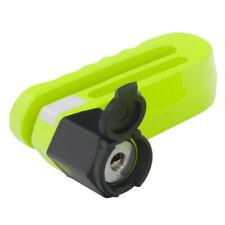 Mammoth Original Motorcycle Motorbike Security Disc Lock - Fluorescent 10mm Pin