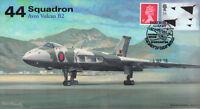 AV600 Avro Vulcan 44 Sqn RAF cover Farewell to Flight 6 Sep 2015 XH558 postmark