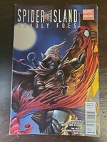 Spider-Island: Deadly Foes #1 FN 2011 Marvel Comic Newsstand Version
