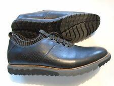 New Hush Puppies Moyen Men's Size 11.5 Expert Knit Oxfords  Shoes Black Leather