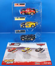 Disney Cars XRS Xtreme Racing Serie Mc Quueen-Cruz Ramirez-Jackson Storm 3er Set