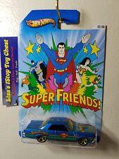 "Hot Wheels 2013 Kroger Excl.""SUPERMAN"" '65 Pontiac GTO 2/6 B1"