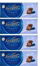 FAZER Karl Fazer Blueberry Yoghurt Crisps in milk chocolate  4 x 200 g (4 pcs)
