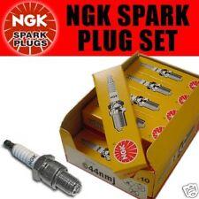 4X NGK Bujías para Nissan Terrano II 2.4 93+