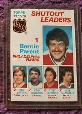1978 Topps Bernie Parent- #70 Hockey Card