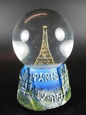 Paris Schneekugel mit Musik Eiffelturm Snowglobe Waterglobe,Souvenir Spieluhr