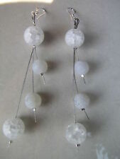Agate Silver Fashion Earrings