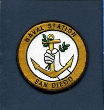 NAVSTA NAVAL STATION SAN DIEGO CA US Navy Sip Base Squadron Jacket Patch