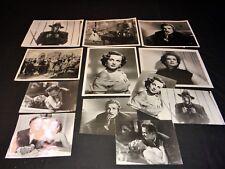 QUAND LE BROUILLARD SE LEVE maria elena marques rare photos presse cinema  1952