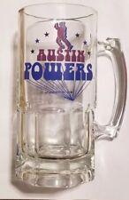 "Vintage 2002 ""AUSTIN POWERS"" Collectors Glass Mug-NEW!"
