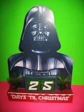 STAR WARS DARTH VADAR - 25 Day Countdown Calendar - Day's Til Christmas - NEW !