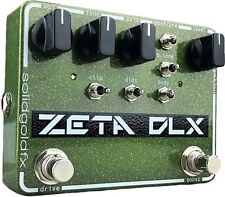 SolidGoldFX Zeta Deluxe Overdrive Guitar Effects Pedal