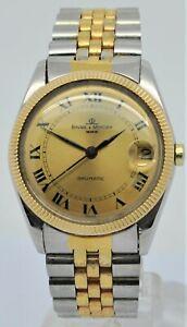 Baume et Mercier Baumatic ref:1185 Bi metal gent's micro rotor automatic watch