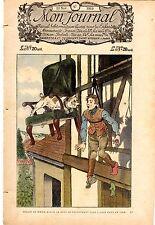 MON JOURNAL NUMERO 47  DU 15 NOVEMBRE 1919 INTROUVABLE !!!!!!
