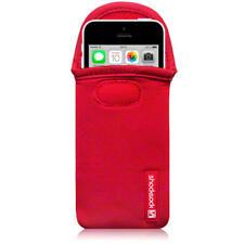 Shocksock ROSSO Neoprene Custodia per iPhone SE / 5 / 5S