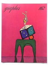 Graphis 162 Vintage International Design Advertising Illustration 1972-73 Herdeg