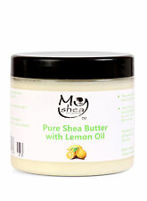 Whipped Pure Organic Shea Butter with Organic Lemon Oil *Grade A*  200ml