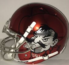 NCAA Oklahoma State Cowboys Chrome Schutt AUTHENTIC Full size Football Helmet