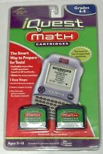 Quantum Leap iQuest Math Cartridges Grades 6-8 New in Package LeapFrog