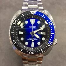 SEIKO Prospex Turtle SRPC25 Automatic 200m Diver Navy Black 2018 New Color !