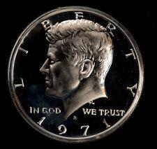 1971 S Kennedy .50C Silver Half Dollar Uncirculated Gem *3757 Free S/H