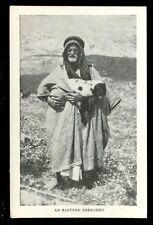 Palastine Eastern Shepherd vintage PPC by Missionary Film Committee