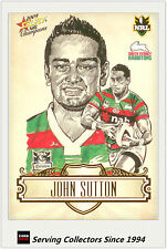 2009 Select NRL Champions Star Sketch Card SK26 John Sutton (Rabbitohs)