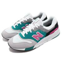 New Balance CM997HZH D Grey Pink Green White Men Women Unisex Shoes CM997HZHD