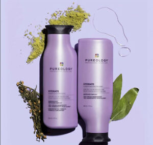 Pureology Hydrate Shampoo & Conditioner 8.5oz each (New Package 2020) 100% Vegan