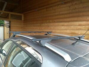 2 barres de toit pour Peugeot 2008, origine constructeur.