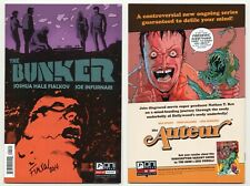 Bunker #1 NM+ Variant Cover SS signed Fialkov TV Series on NBC soon Oni Press