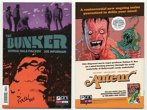 Bunker #1 (NM+ 9.6) Variant Cover SIGNED by Fialkov *Optioned* 2014 Oni Press