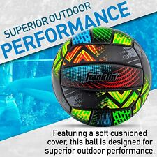 Franklin Sports Volleyball - Outdoor/ Beach Volleyball - Cushioned Volleyball Ba