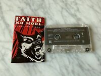 Faith No More King For A Day Fool For A Lifetime CASSETTE Tape 1995 Slash RARE!