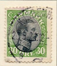 Denmark 1918-20 Early Issue Fine Used 30ore. 013117