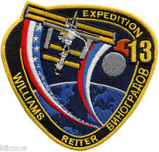 International Space Station - Expedition 13 - Embroidered Patch 11cm x 11cm