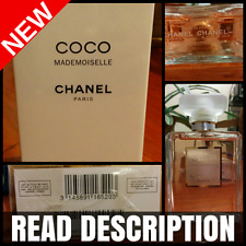 *READ* CHANEL COCO MADEMOISELLE  Eau De Parfum 3.4 oz 100 ml Perfume EDP Sealed