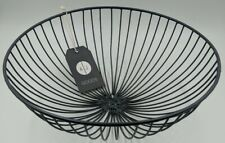 Wire Fruit Bowl Charcoal New with Tags Alice Jane Goods (Handmade)